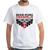 Beer Pong Champion Shirt
