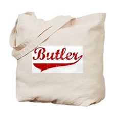 Butler (red vintage) Tote Bag