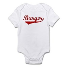 Burger (red vintage) Infant Bodysuit