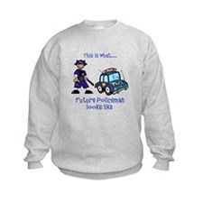 What future Policeman looks like Sweatshirt