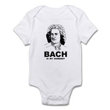 Bach Is My Homeboy Infant Bodysuit