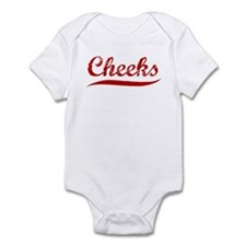 Cheeks (red vintage) Infant Bodysuit