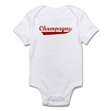 Champagne (red vintage) Infant Bodysuit