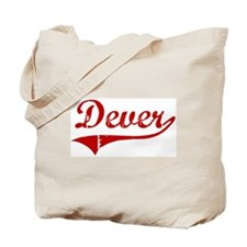 Dever (red vintage) Tote Bag