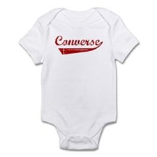 Converse (red vintage) Infant Bodysuit