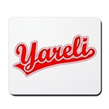 Retro Yareli (Red) Mousepad