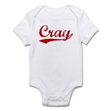 Cray (red vintage) Infant Bodysuit