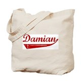 Damian (red vintage) Tote Bag