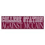 College Station Against McCain