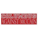 Columbus Against McCain