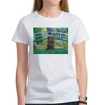 Bridge /Cairn Terrier (w) Women's T-Shirt