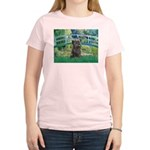 Bridge /Cairn Terrier (w) Women's Light T-Shirt