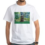Bridge /Cairn Terrier (w) White T-Shirt