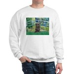 Bridge /Cairn Terrier (w) Sweatshirt