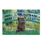 Bridge /Cairn Terrier (w) Postcards (Package of 8)