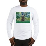 Bridge /Cairn Terrier (w) Long Sleeve T-Shirt