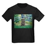 Bridge /Cairn Terrier (w) Kids Dark T-Shirt