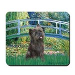 Bridge /Cairn Terrier (w) Mousepad