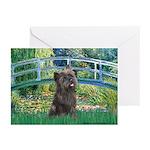 Bridge /Cairn Terrier (w) Greeting Cards (Pk of 10