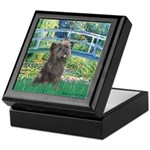 Bridge /Cairn Terrier (w) Keepsake Box