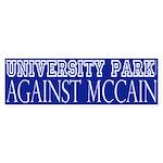 University Park Against McCain