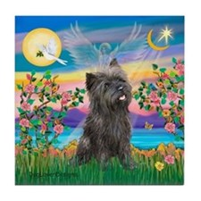 Guardian/Cairn Terrier Tile Coaster