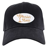 Orange C Martini Bride's Mom Baseball Hat