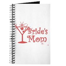 Red C Martini Bride's Mom Journal