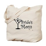 Black C Martini Bride's Mom Tote Bag