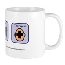 Best Therapist Small Mug