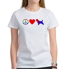 Peace Love Cairn Terrier Women's TShirt