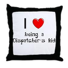 Fire Dispatcher Throw Pillow