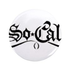 "B/W So Cal 3.5"" Button"