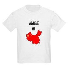 Made In China Map Kids T-Shirt