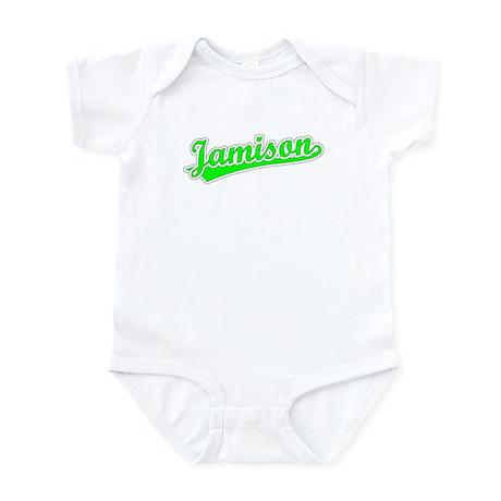Retro Jamison (Green) Infant Bodysuit