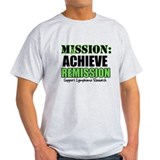 Mission Remission Lymphoma T-Shirt