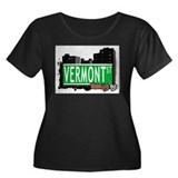 VERMONT ST, BROOKLYN, NYC Women's Plus Size Scoop