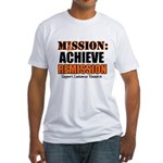 Mission Remission Leukemia Fitted T-Shirt