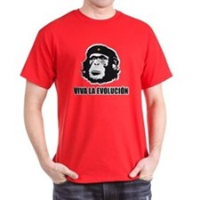 Viva La Evolucion Che Guevara Style T-Shirt