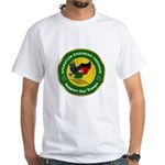 Masonic Afghanistan White T-Shirt