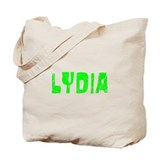 Lydia Faded (Green) Tote Bag