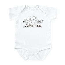 Amelia Little Miss Personalized Baby Bodysuit