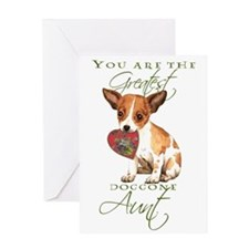 Chihuahua Aunt Mother's Day Greeting Card
