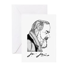 Padre Pio Greeting Cards (Pk of 10)