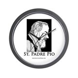 St. Padre Pio Wall Clock