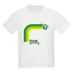 Think Green Earth Rainbow Kids Light T-Shirt