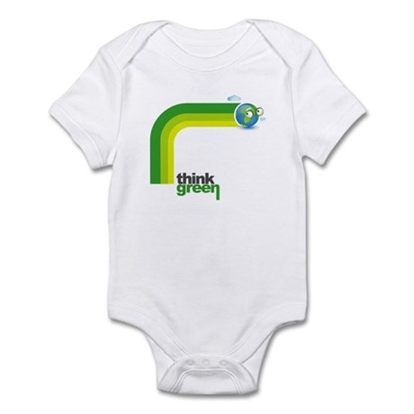 Think Green Earth Rainbow Infant Bodysuit