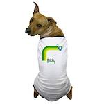 Think Green Earth Rainbow Dog T-Shirt