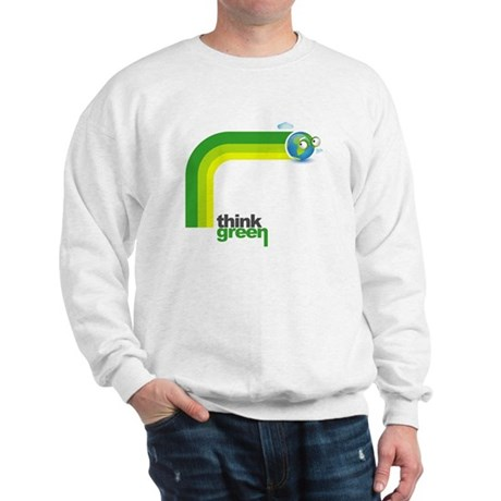 Think Green Earth Rainbow Sweatshirt