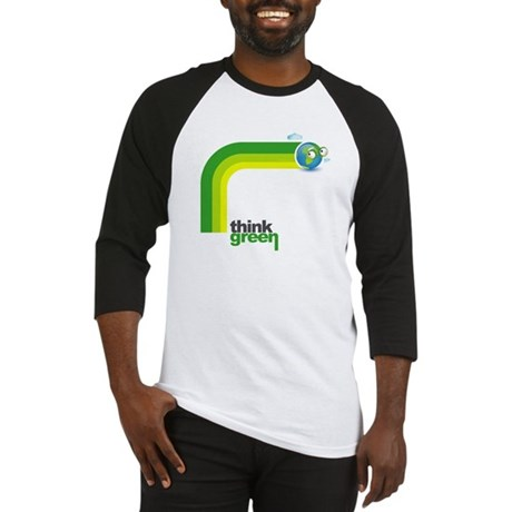 Think Green Earth Rainbow Baseball Jersey